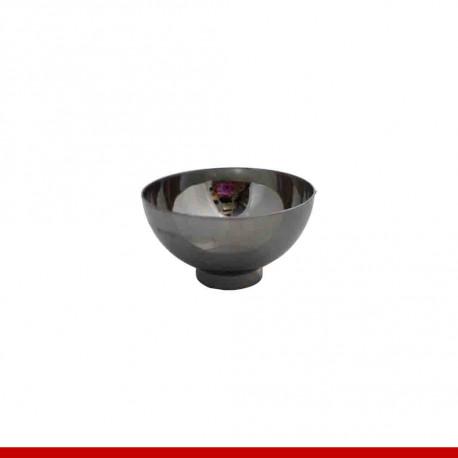 Mini cumbuca redonda prata - Descartáveis de luxo