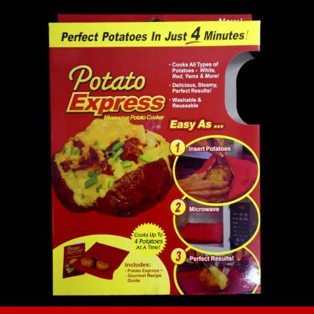 Saco de cozinhar batata - Batata Express