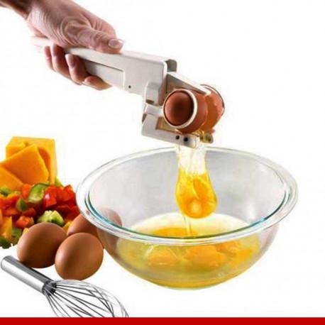 Quebrador de ovos e separador de gema EZ Cracker