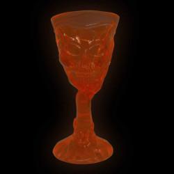 Taça caveira neon - Artigos de halloween