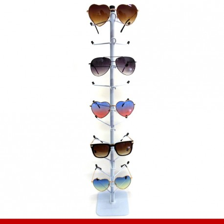 Expositor de óculos para balcão em metal - Expositores para lojas