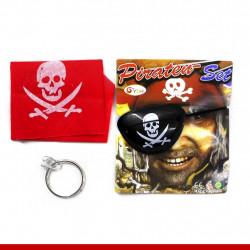 Kit pirata Halloween - 1 unidade