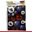 Adesivos de Halloween -Cartela com 18 unidades.