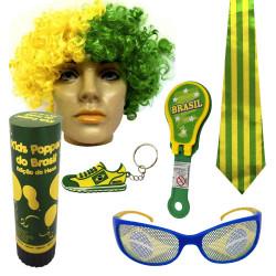 Kit do Brasil 2 - Kit do torcedor para copa do mundo