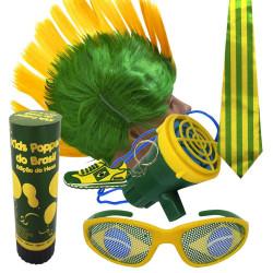 Kit do Brasil 6 - Kit do torcedor para copa do mundo