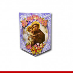 Kit santo cartonado - 3 peças - Decoração de festa junina