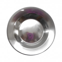 Prato fundo em aço inox StarTools 21 cm - Utilidades Domésticas em metal