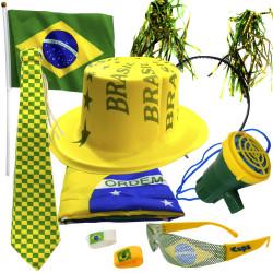 Kit Especial Brasil - Kit do torcedor para copa do mundo