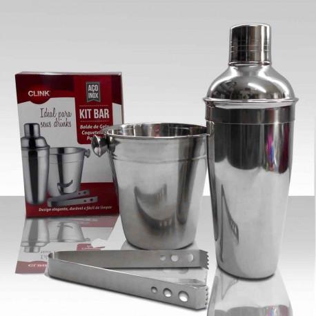 Kit bar em aço inox - Utilidades domésticas