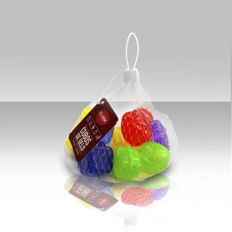Cubos para gelo artificial em formato de frutas - 10 peças - Utilidades domésticas