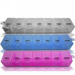 Kit Porta Comprimidos Semanal 3 unidades