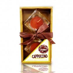 Vela Decorativa Cappuccino - Pacote com 2 peças