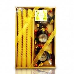 Vela Decorativa Tripla - Pacote com 2 unidades