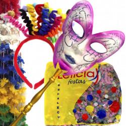 Kit Carnaval 3 - Artigos de festas com temas de carnaval