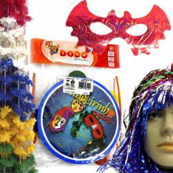 Kit Carnaval 4 - Artigos de festas com temas de carnaval