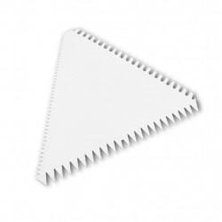 Espátula triângulo serrilhada - Produtos para a páscoa