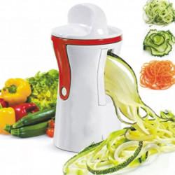 Cortador de legumes em espiral Spiral Slicer Vermelho - 1 unidade