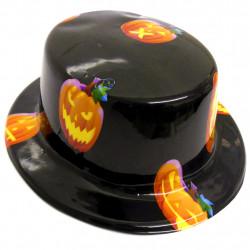 Chapéu em plástico Caveira Halloween - Artigos de Halloween