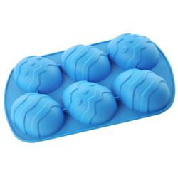 Forma de Silicone Ovo de Páscoa Grande Texturizado - Produtos para a páscoa