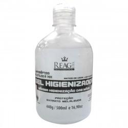 Alcool Antisséptico Gel 70º Higienizador para Mãos e Limpeza em geral 500ml