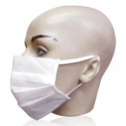 Máscara Facial Dupla Face TNT Descartável