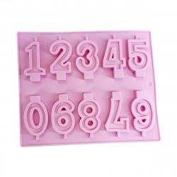 Forma de Silicone Números Dolce Home - Produtos para a páscoa