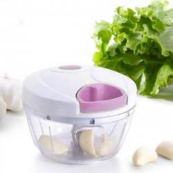 Mini Processador de Alimentos Triturador Cortador Manual - Utilidades Domésticas