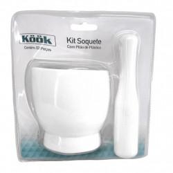 Kit Socador com Pilão de Plástico - Utilidades domésticas