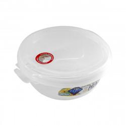 Pote Premium Hermético Redondo 1070ml Transparente - Plastutti