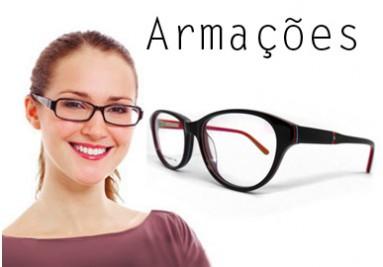 Armações para óculos de grau